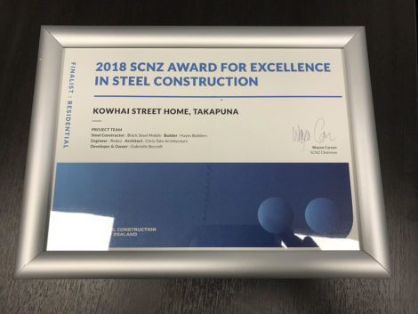 SCNZ Award for Excellence in steel construction