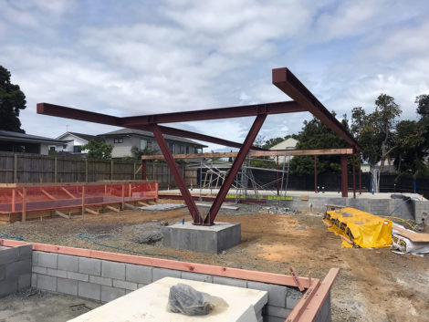 Kowhai Steel Structure
