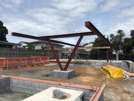 Kowhai Steel Structure